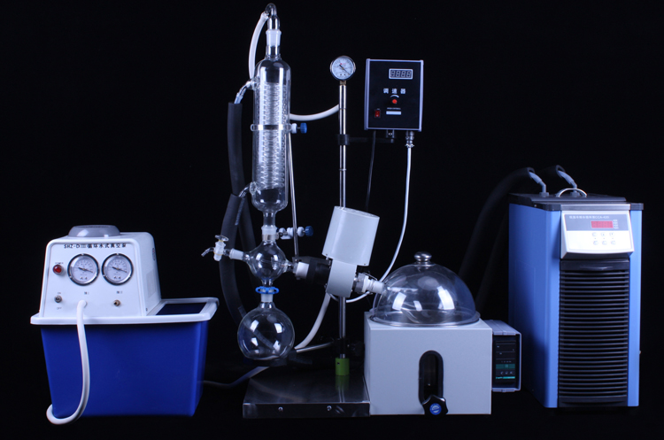 Best Price Rotary Evaporator Rotovap Small Mini Lab Water Vacuum Pump