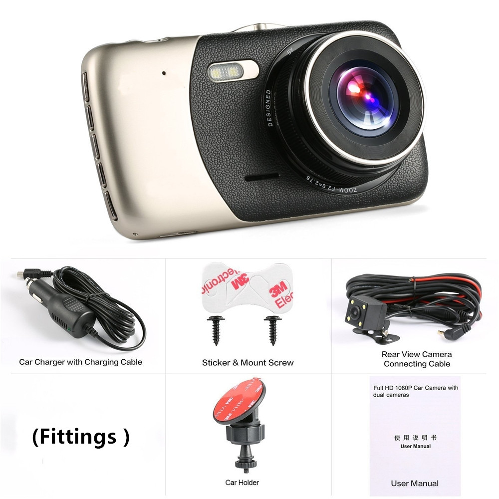 Back To Search Resultshome Dynamic 2.4inch 1080p Traffic Lcd Car Dvr Night Vision Camcorder Infrared Recorder Wide Angle Video Tachograph Camera Screen Dash Cam Hd Products Are Sold Without Limitations