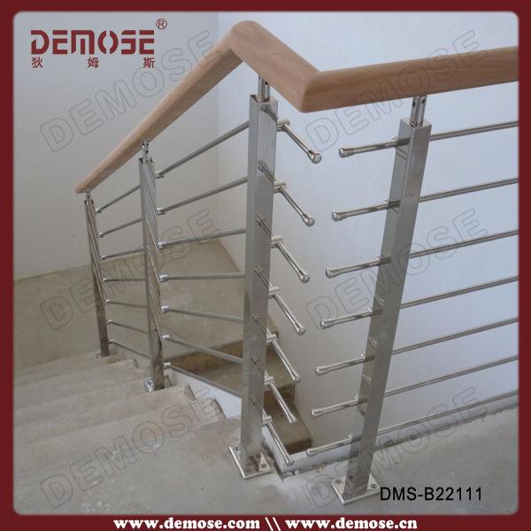 Prefab Metal Stair Railing/dubai Stainless Steel Railings Design