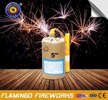 Large Supply 5quot Cylinder Shell Birthday Cake Candles Firework
