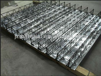 Manufacturer Steel Bar Truss Girder Slab Decking Sheet Td
