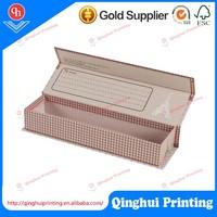 Factory wholesale soft carton folding 2 pieces chocolate gift box