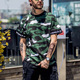 Summer Street Custom Short Sleeve Army Camouflage Military Men S T Shirts