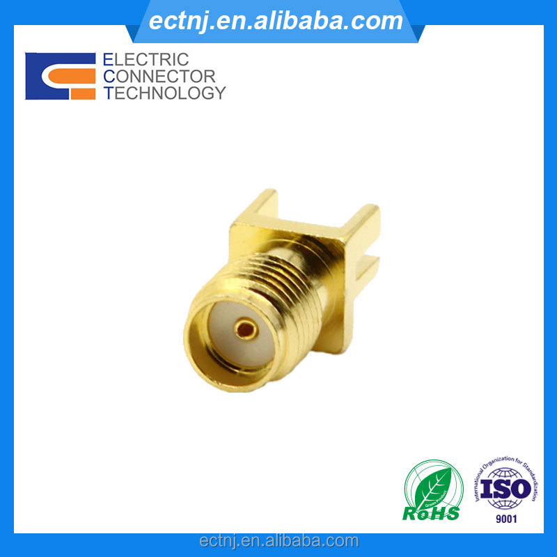 SMA Female Jack PCB Mount Straight RF Coaxial Connector