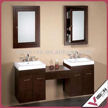 German Style Bathroom Vanity With Double Sink - Buy ...
