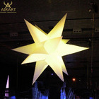 LED inflatable star for stage decoration,inflatable sea urchin,festival supplies