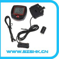 water proof digital odometer wireless bicycle computer,wireless bike computer, digital speedometers for motorcycles