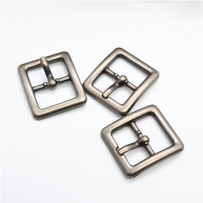 Sliver Rectangle Small Buckles