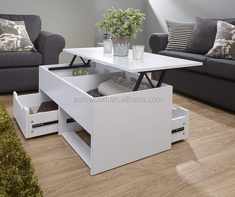 White Lift Up Coffee Table.Ultimate Storage Lift Up Coffee Tea Table Split Level Top Table With Large Space In White Buy Coffee Table Tea Table End Side Table Product On