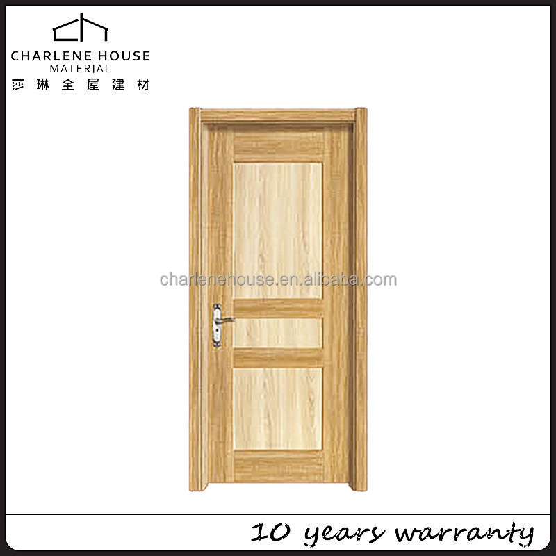 Concise style Korean ecological MDF wood door designs