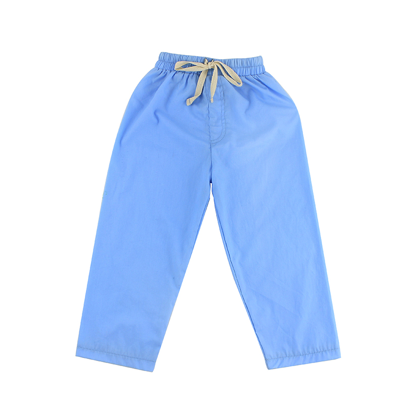 Blauwe Vlakte Herfst Lange Legging Kids Fashion Casual Wear Broek