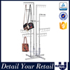 Good quality display stand,double sided metal J hooks for bar hanging