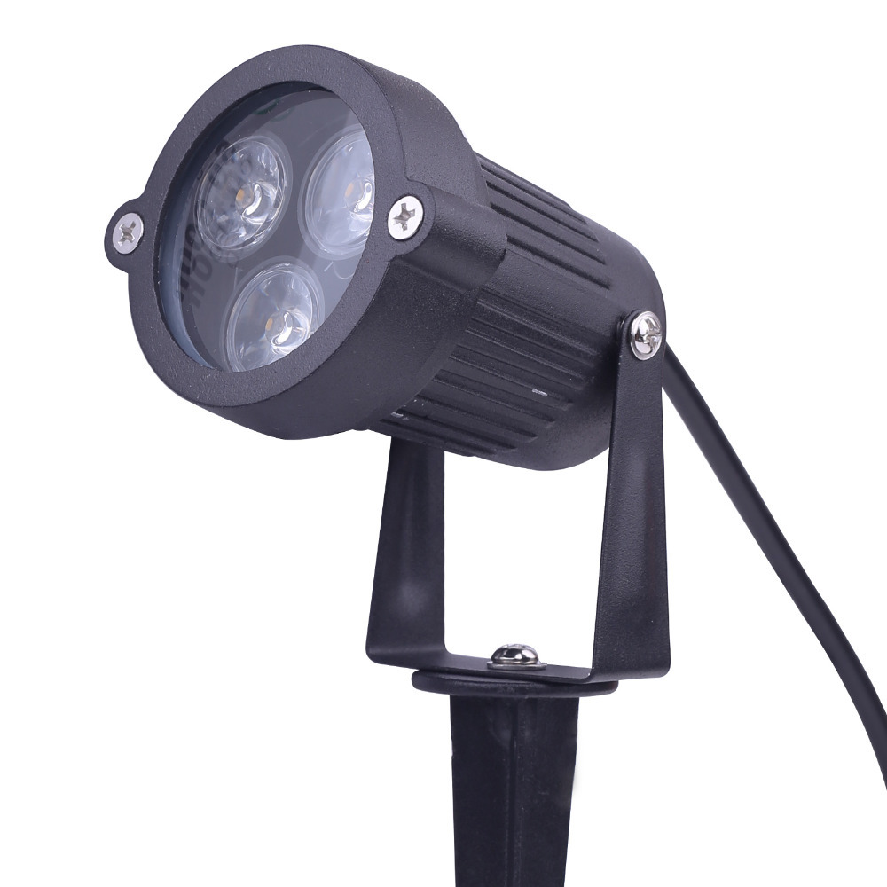 9w 12v led path landscape light lawn flood spot light lamp waterproof outdoor garden yard led. Black Bedroom Furniture Sets. Home Design Ideas
