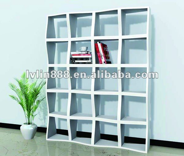 Wood bookcase,floor decorative bookcase/cube shelves/kids book shelf