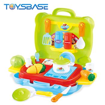 Kitchen Article Set Funny Colorful Boy Play Mini Kitchen Set Toy