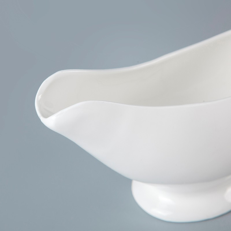 product-Wholesale Tableware For Restaurant 3 Oz Sauce Boat, Hotel Tableware Supplierd Gravy Boat^-Tw