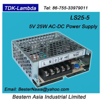 Ls25-12 5v 5a Ac Dc Power Supply Tdk-lambda Ls25-5 - Buy Ls25-5,Lambda  Ls25-5,Tdk-lambda Ls25-5 Product on Alibaba com