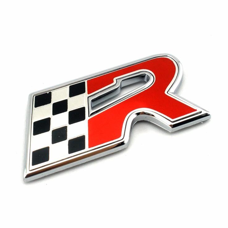 Car Brand Name 25 Mm Chrome Large Plastic Alphabet Letter Buy