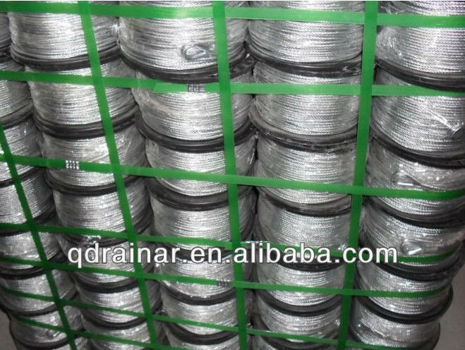 steel wire rope/galvanized steel wrie rope/ ungalvanized steel wire rope