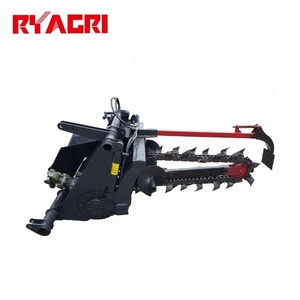 Small single chain trenching machine with good price