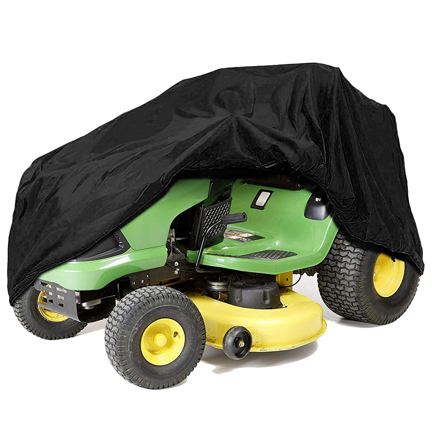 Get Quotations Iztoss Riding Lawn Mower Tractor Cover Fits Decks Up To 54 Black Water