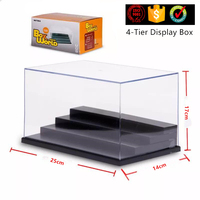 2017 Hot New Products Promotional Clear Lego Toy Display Case