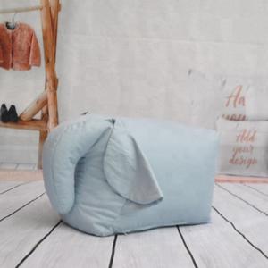 Outstanding Childrens Blue Elephant Bean Bag Ibusinesslaw Wood Chair Design Ideas Ibusinesslaworg