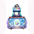 coin operated two players water guns shooting kids shooting arcade game machine