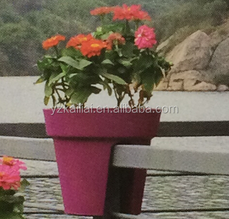 large deck railing planters