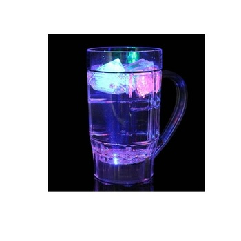 600ml Plastic LED Flashing Beer Cup for Party and Club