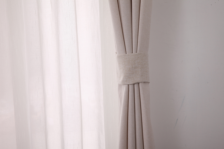 Yongshun finished products salon store rideaux white curtain for bedroom