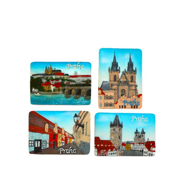 Professional china factory wholesale fridge resin magnets cities fridge magnets components
