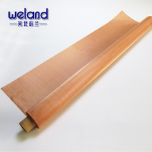 Copper Square Wire Mesh Screen / Brass Woven Wire Mesh