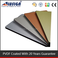 Alusign advanced construction materials fastness aluminum composite facing board wall decorative use