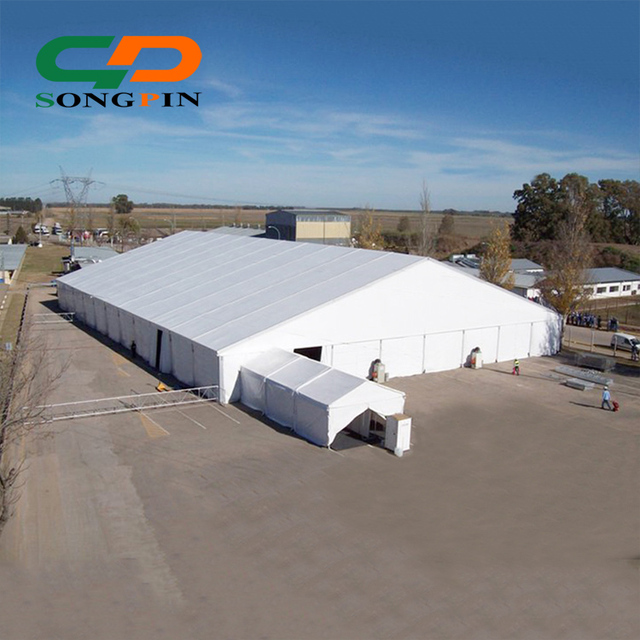 Industrial storage warehouse tents marquee made of waterproof fireproof material for sale & China Waterproof Material For Tents Wholesale ?? - Alibaba