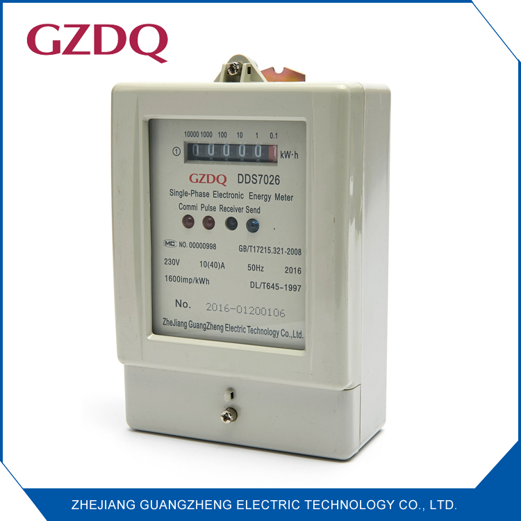 Counter display single phase smart digital energy meter with rs485