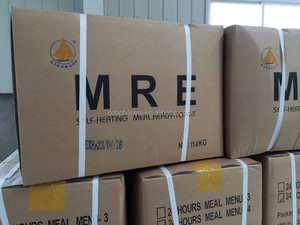 Meal Ready To Eat, military style rations, MRE food for emergency situation