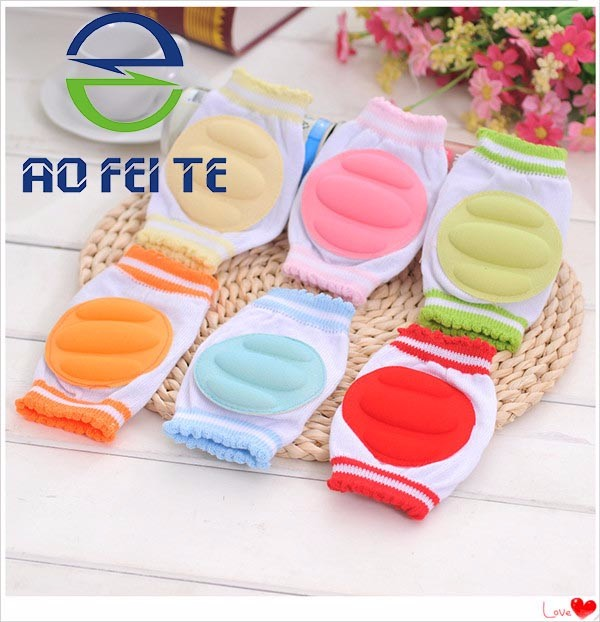 Aofeite Wholesale Children Baby Crawling Knee Pad / Baby Knee Pads / Knee Support for Kids