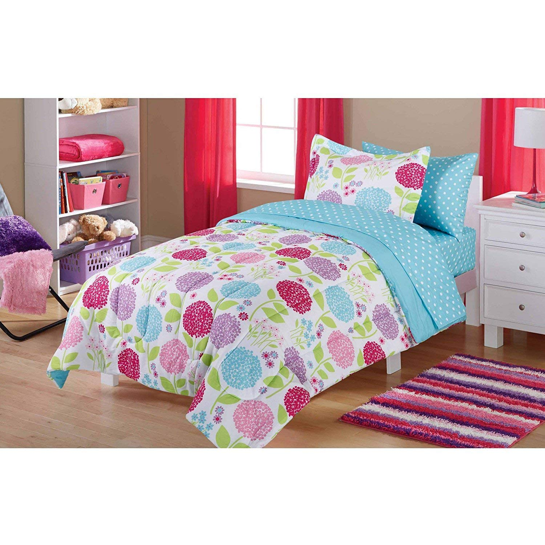 Buy Kids Purple Pink Floral Pattern Rolling Backpack 785167add373f