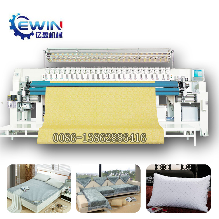 embroidery quilting machinery