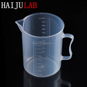 HAIJU Laboratory Medical Plastic Measuring Cup Manufacturer
