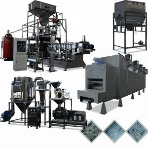 China Double Screw Extruder Fully Automatic Large Output Modified Cassava Food Starch Processing Machine With Big Capacity