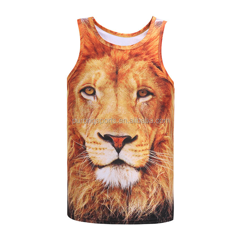 f1970a0f6bbed Custom Design Sublimation Printing Stringer Tank Top Wholesale Bodybuilding Tank  Top For Men - Buy Tank Top
