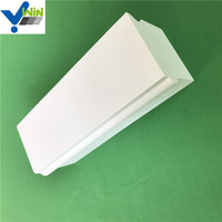 Heat resistance high alumina ceramic brick wear resistant ceramic