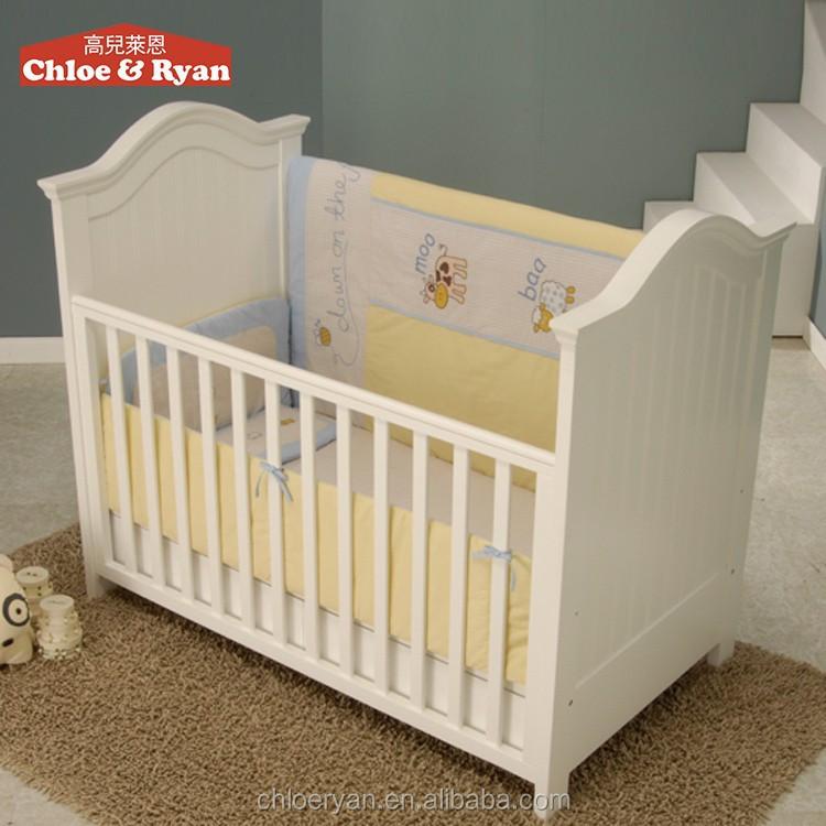 nouveau n b b swing lit fixe r glable et bascule lit. Black Bedroom Furniture Sets. Home Design Ideas