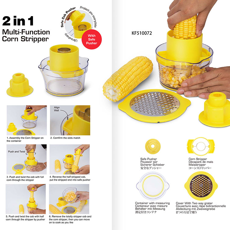 Newest Manual Corn Stripper With measuring cup