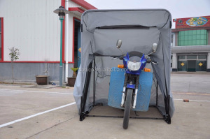 Foldable motorcycle Parking shelter, Folding Bicycle Storage Shelter , Foldable Bike Shelter