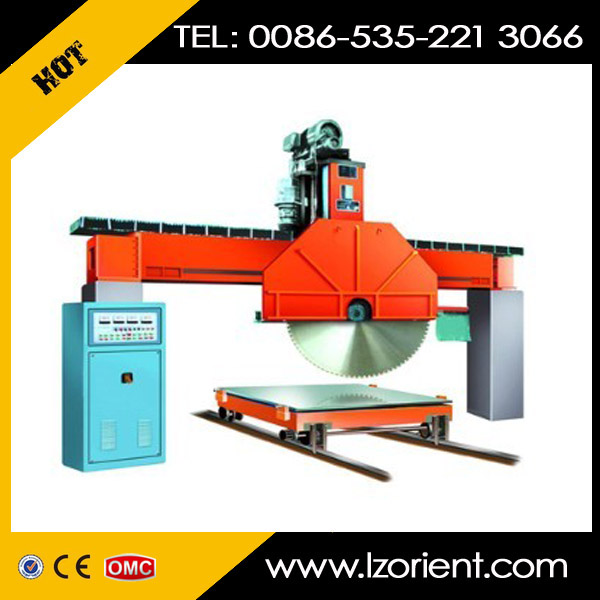 QQ2500 brige-type disk saw marble granite block cutting machine price