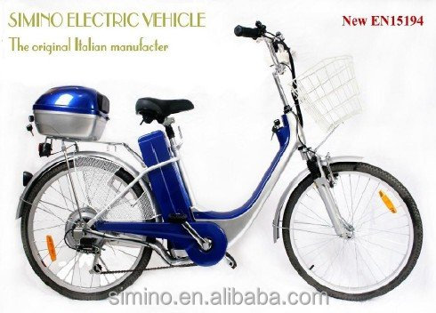 simino Economic lead acid battery power electric bicycle