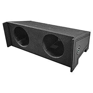 Q Power QBJEEP10 DF Dual 10-Inch Custom Speaker Box for Jeep Wrangler CJ5/CJ7